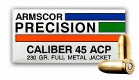 .45 ACP 230gr Full Metal Jacket Armscor