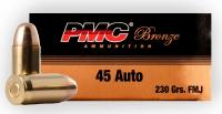.45 ACP 230gr FMJ PMC Ammunition