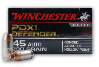 .45 ACP 230gr JHP Winchester